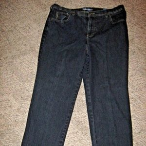 Style & Co Jeans - Natural Fit Dark Blue 5 Pocket Stretch Jeans 16P